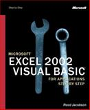 Microsoft Excel 2002 Visual Basic for Applications Step by Step, Jacobson, Reed, 0735613591