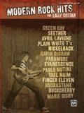 Modern Rock Hits for Easy Guitar, Hal Leonard Corp., 0739053590
