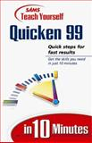 Teach Yourself Quicken Deluxe 99 in 10 Minutes, Joshua Nossiter, 0672313596