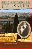 Recollections of Jerusalem, Berezina Derrick, Anya, 0884653595