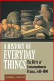A History of Everyday Things : The Birth of Consumption in France, 1600-1800, Roche, Daniel, 0521633591