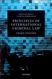 Principles of International Criminal Law, Werle, Gerhard and Jessberger, Florian, 0198703600