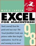 Excel 1998 for Macintosh, Langer, Maria, 0201353601
