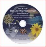 Proceedings of the 2007 APS/SON Joint Meeting : Personal Use Version,, 0890543607