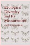 Ecological Diversity and Its Measurement, Magurran, Anne E., 9401573603