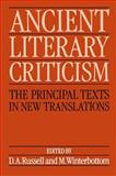 Ancient Literary Criticism : The Principal Texts in New Translations, , 0198143605