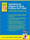Contracts (Rights of Third Parties) Act 1999 : A Milestone in English Law, Wineman, Vivian and Vegoda, Victor H., 189838360X
