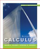 Calculus : Single and Multivariable, Krantz, Steven G. and Blank, Brian E., 0470453605
