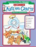 December Monthly Arts and Crafts, The Mailbox Books Staff, 1562343602