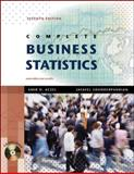 Complete Business Statistics, Aczel, Amir D. and Sounderpandian, Jayavel, 0073373605