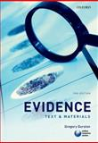 Evidence : Text and Materials, Durston, Gregory, 0199583609