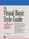 The Visual Basic Style Guide, Patrick, Tim, 0130883611