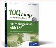 100 Things You Should Know about SAP ERP HCM, Bhutoria, Ajay Jain and Lewis, Cameron, 1592293611
