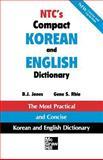 NTC's Compact Korean and English Dictionary, Jones, B. J. and Rhie, Gene S., 0844283614