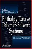 CRC Handbook of Enthalpy Data of Polymer-Solvent Systems, Wohlfarth/Christian, 0849393612