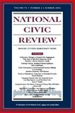 National Civic Review, No. 2, Summer 2002 Vol. 91 : Issues in Democratic Politics: Public Deliberation, Electoral Reform, and Civic Participation, NCR Staff, 0787963623