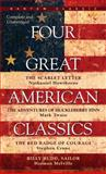 Four Great American Classics, Herman Melville and Nathaniel Hawthorne, 0553213628