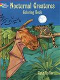 Nocturnal Creatures Coloring Book, Ruth Soffer, 0486403629