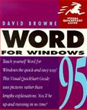 Word for Windows 95, Browne, David, 0201883627