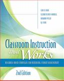 Classroom Instruction That Works : Research-Based Strategies for Increasing Student Achievement, 2nd Edition, Dean, Ceri B. and Hubbell, Elizabeth Ross, 1416613625
