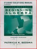 Beginning Algebra, McKeague, Charles P., 0030033624
