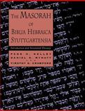 The Masorah of Biblia Hebraica Stuttgartensia 9780802843630