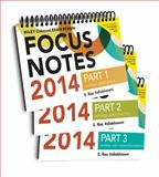 Wiley CIA Focus Notes 2014 : Complete Set, Vallabhaneni, 1118893638