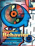 Principles of Behavior, Malott, Richard W. and Trojan, Elizabeth A., 013243363X