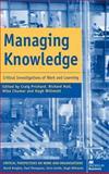 Managing Knowledge 9780312233631