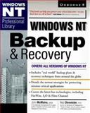 Windows NT Backup and Recovery, McMains, John R., 0078823633