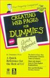 Quick Reference Creating Web Pages for Dummies, Lowe, Doug, 0764503634