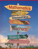 Mathematics for Elementary School Teachers, Ricardo D. Fierro, 0538493631