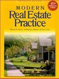 Modern Real Estate Practice 9780793133635