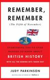 Remember, Remember (The Fifth of November), Judy Parkinson, 0385343647