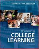 Orientation to College Learning, Van Blerkom, Dianna L., 1111833648