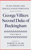 Plays, Poems, and Miscellaneous Writings Associated with George Villiers, Second Duke of Buckingham, , 0199203644