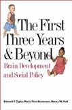 The First Three Years and Beyond : Brain Development and Social Policy, Zigler, Edward F. and Finn-Stevenson, Matia, 0300093640