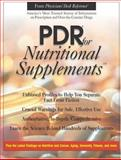 PDR for Nutritional Supplements, Medical Economics Staff and Hendler, Sheldon Saul, 1563633647
