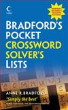 Crossword Solver's Lists, Anne R. Bradford, 0007333641