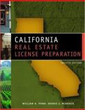 California Real Estate License Prep, Pivar, William H. and McKenzie, Dennis J., 0324203640