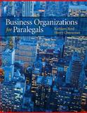 Business Organizations for Paralegals, Reed, Kathleen and Cheeseman, Henry R., 0135103649