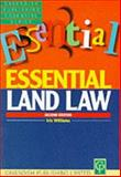 Essentials on Land Law, Williams, Iris, 1859413641
