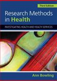 Research Methods in Health 3rd Edition