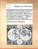 Propagation of the Gospel in the East, Bartholomaeus Ziegenbalg, 1170513654