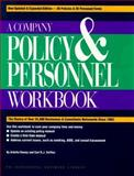 A Company Policy and Personnel Workbook, Ramey, Ardella and Sniffen, Carl R., 1555713653
