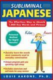 Subliminal Japanese, Aarons, Louis, 0071443657