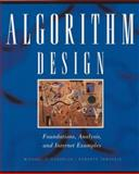 Algorithm Design : Foundations, Analysis, and Internet Examples, Goodrich, Michael T. and Tamassia, Roberto, 0471383651