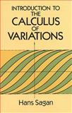 Introduction to the Calculus of Variations, Sagan, Hans, 0486673669
