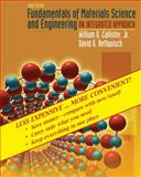 Fundamentals of Materials Science and Engineering : An Integrated Approach, Binder Ready Version, Callister, William D. and Rethwisch, David G., 0470343664