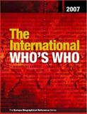 The International Who's Who 2007, , 1857433661